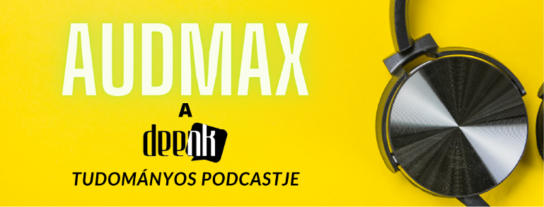 Az audmax podcast bannere