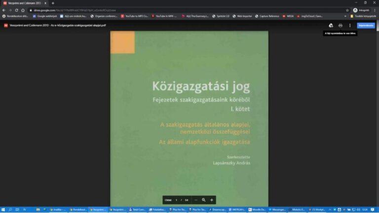 GDrive másolásvédett pdf-tartalmak szolgáltatása (DRM, nem letölthető, nem nyomtatható)