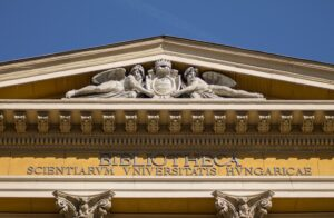 Homlokzat ELTE Egyetemi Könyvtár és Levéltár